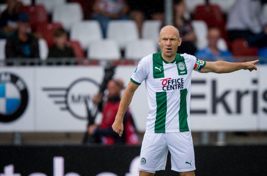 FC Groningen viaja para Alemanha sem Arjen Robben