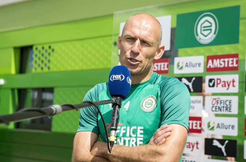 Nada de Arjen Robben na Eurocopa, confirma Frank de Boer
