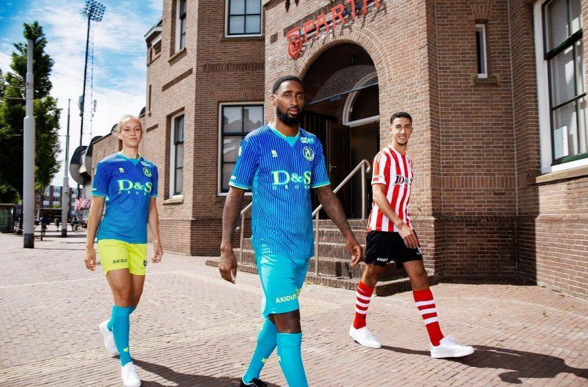 Sparta Rotterdam apresenta seu uniforme para a temporada 2020/21