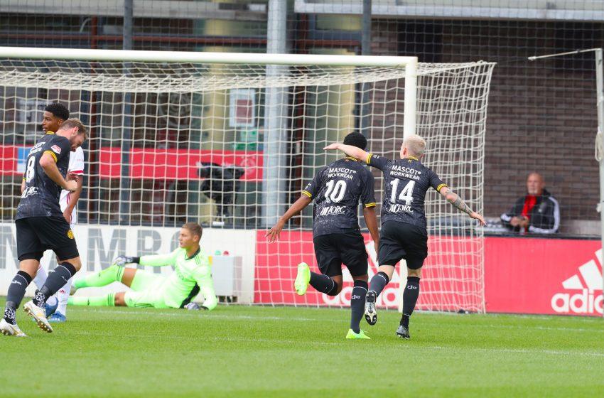 Roda JC bate Jong Ajax por 4×0 em Amsterdã