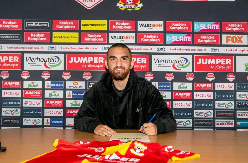 Go Ahead Eagles contrata Erkan Eyibil junto ao 1.FSV Mainz 05