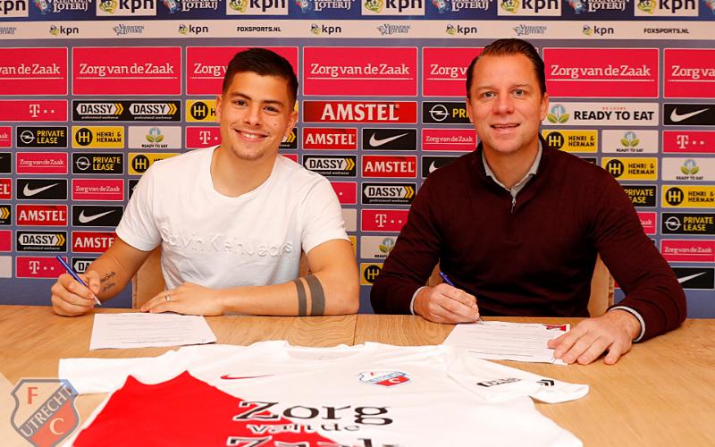 FC Utrecht empresta Gabriël Culhaci ao NEC Nijmegen