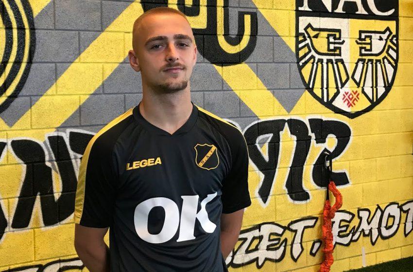NAC Breda anuncia contratação de Lewis Fiorini