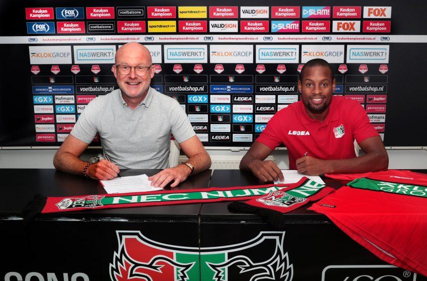 NEC Nijmegen anuncia contratação de Rangelo Janga