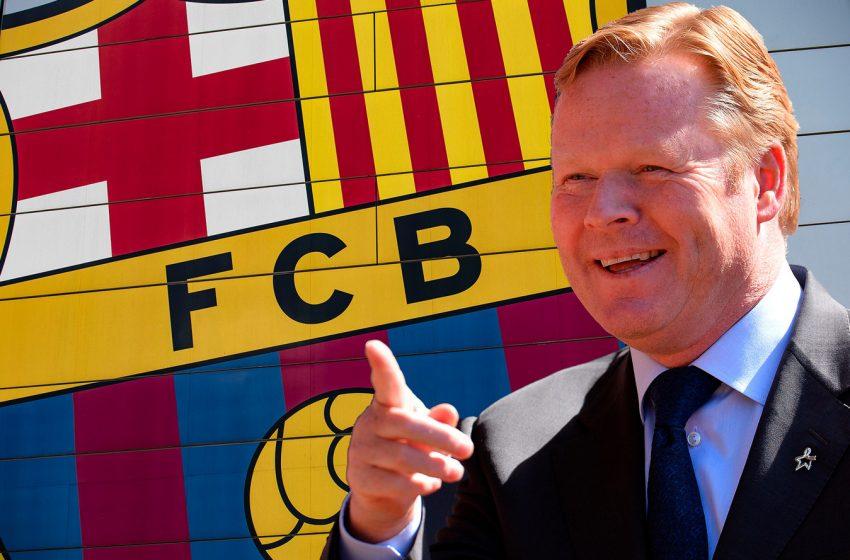 FC Barcelona quer apresentar Ronald Koeman nesta quarta-feira