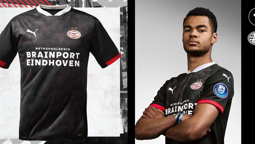 PSV divulga seu terceiro uniforme para a próxima temporada