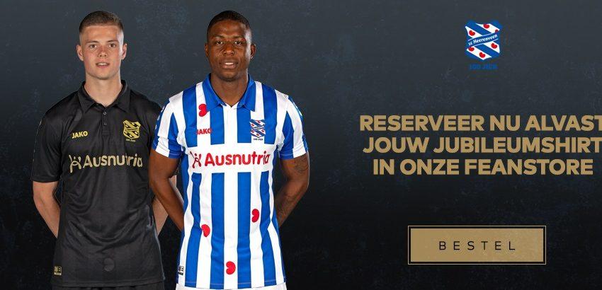 SC Heerenveen lança seu uniforme para a próxima temporada