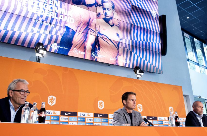 """Frank de Boer: """"Não sou Koeman 2.0, mas quero continuar o trabalho"""""""