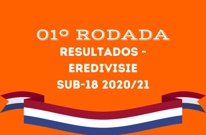 Confira os resultados da 1º rodada da Eredivisie Sub18