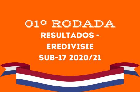 Confira os resultados da 1º rodada da Eredivisie Sub17