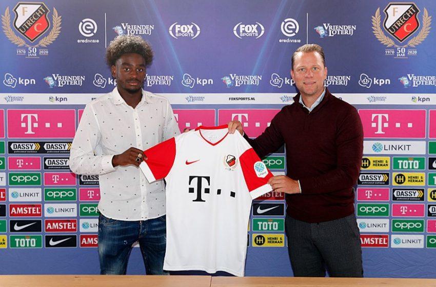 Albert Lottin assina com o FC Utrecht por três temporadas