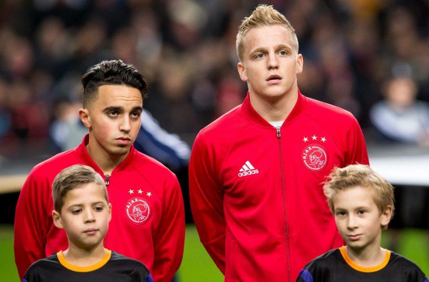Donny van de Beek liga para Abdelhak Nouri e pede autorização para usar a camisa 34 no Manchester United