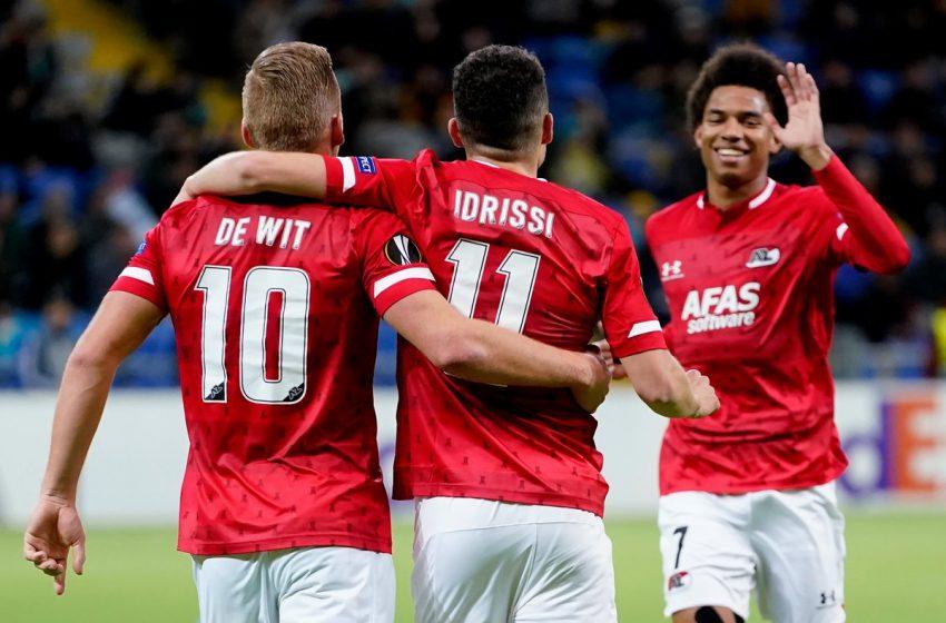 Calvin Stengs e Oussama Idrissi seguem como dúvidas para duelo do AZ Alkmaar na Champions League