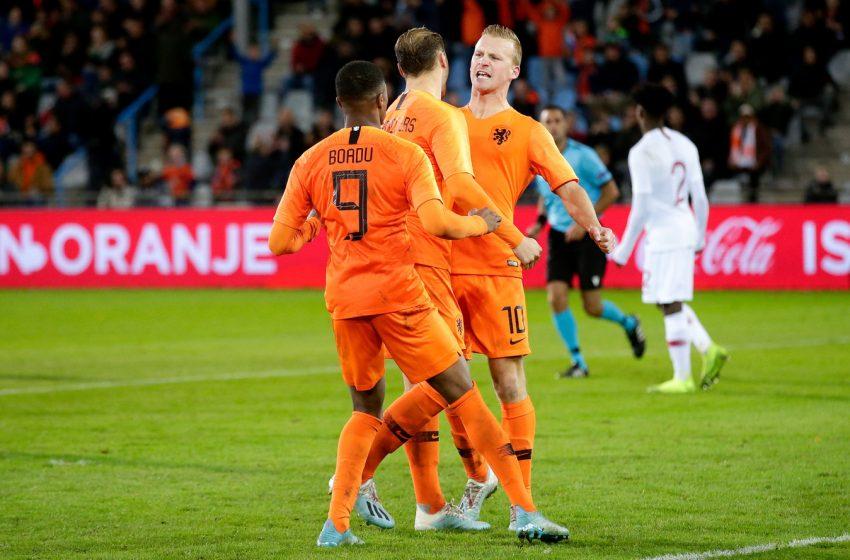 Holanda U21 massacra Bielorrússia e continua 100% nas Eliminatórias para Eurocopa U21