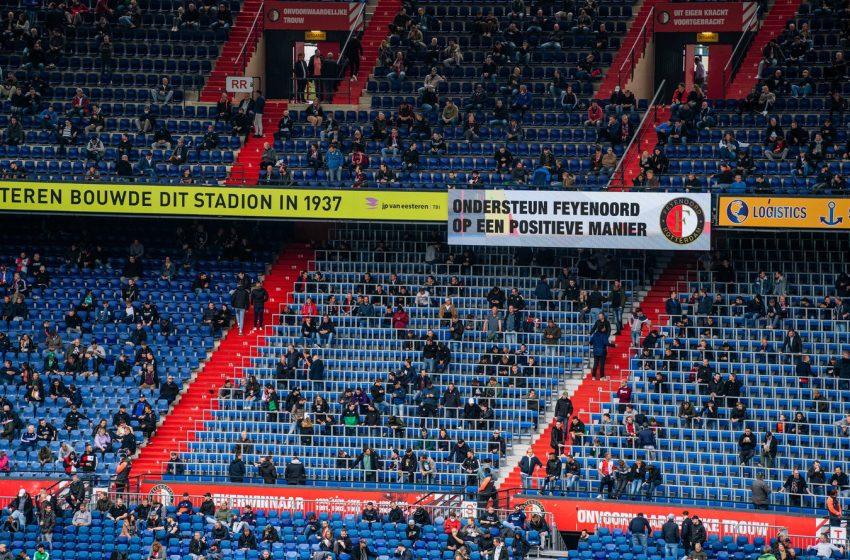 Futebol holandês volta a ficar sem público nos estádios