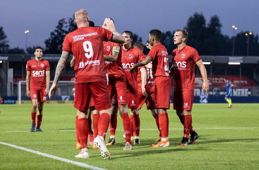 Almere City bate o TOP Oss por 3 a 1