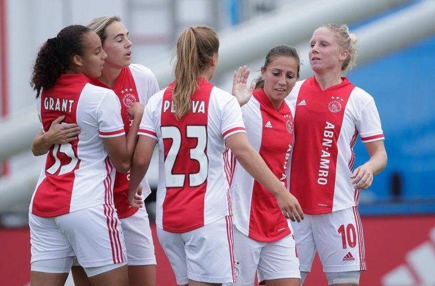 Ajax Feminina estreia com vitória contra o FC Twente na Eredivisie Feminina