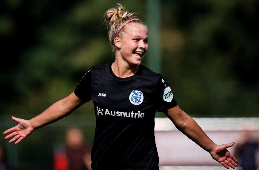 SC Heerenveen vence fora de casa o PEC Zwolle na estreia da Eredivisie Feminina