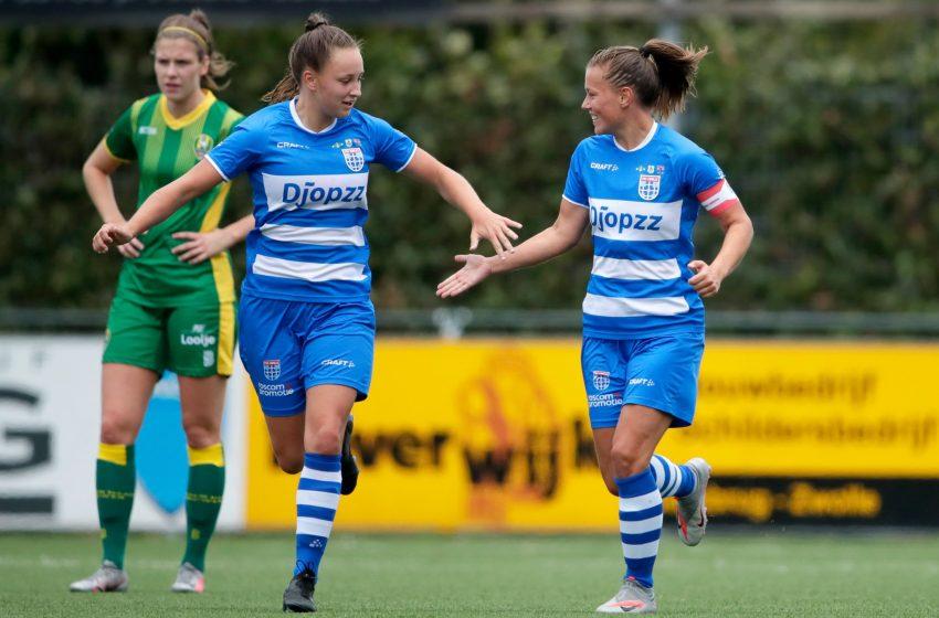 No placar mínimo, o PEC Zwolle bateu o ADO Den Haag na estreia da Eredivisie Feminina