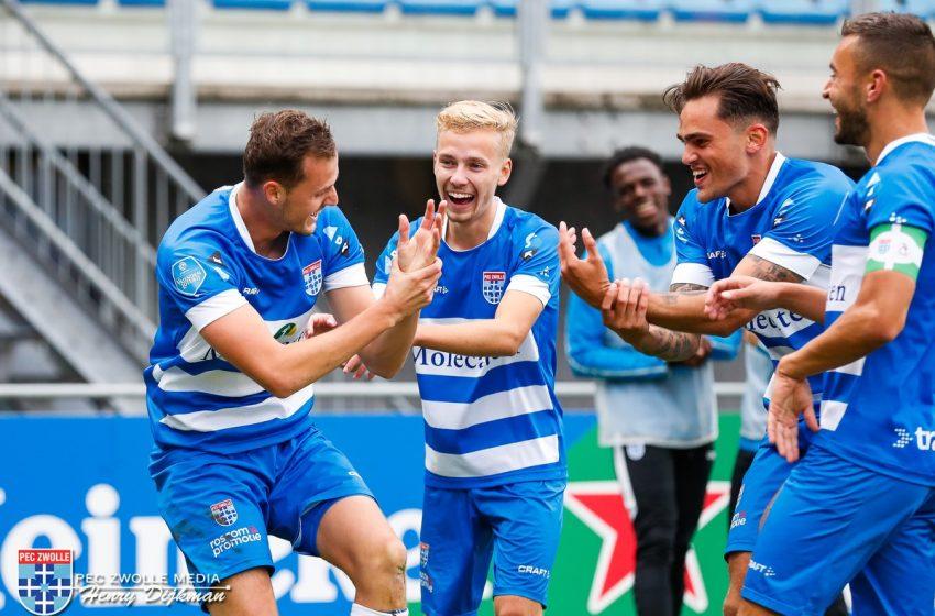 PEC Zwolle bate Sparta Rotterdam por 4 a 0
