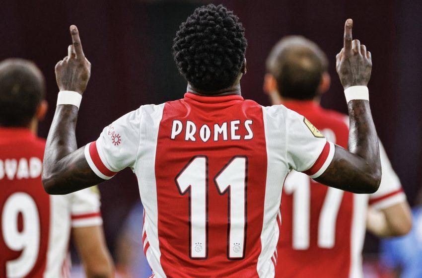 Com gol de Antony, Ajax vence o Vitesse em Amsterdã