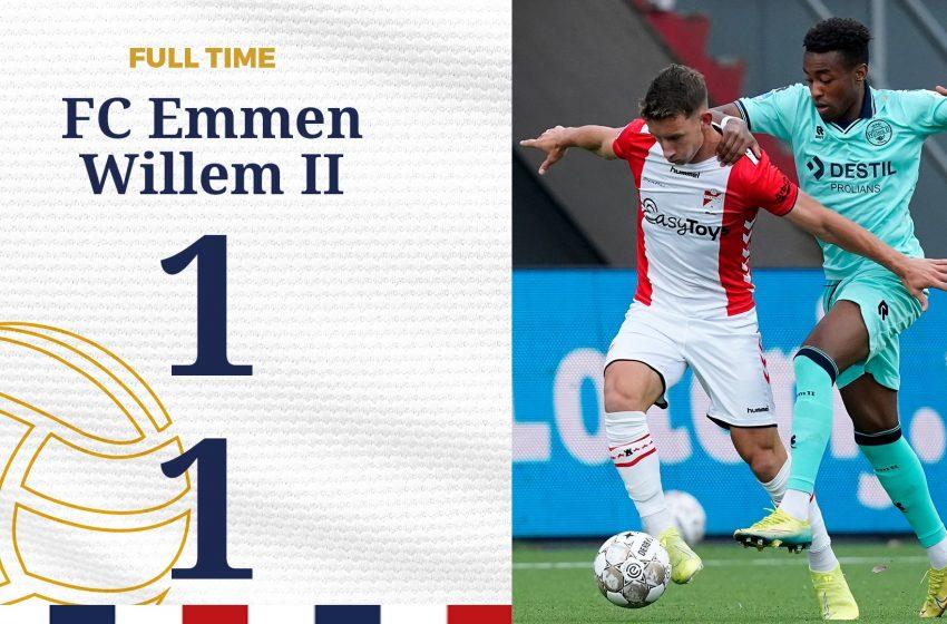 FC Emmen e Willem II ficam no empate