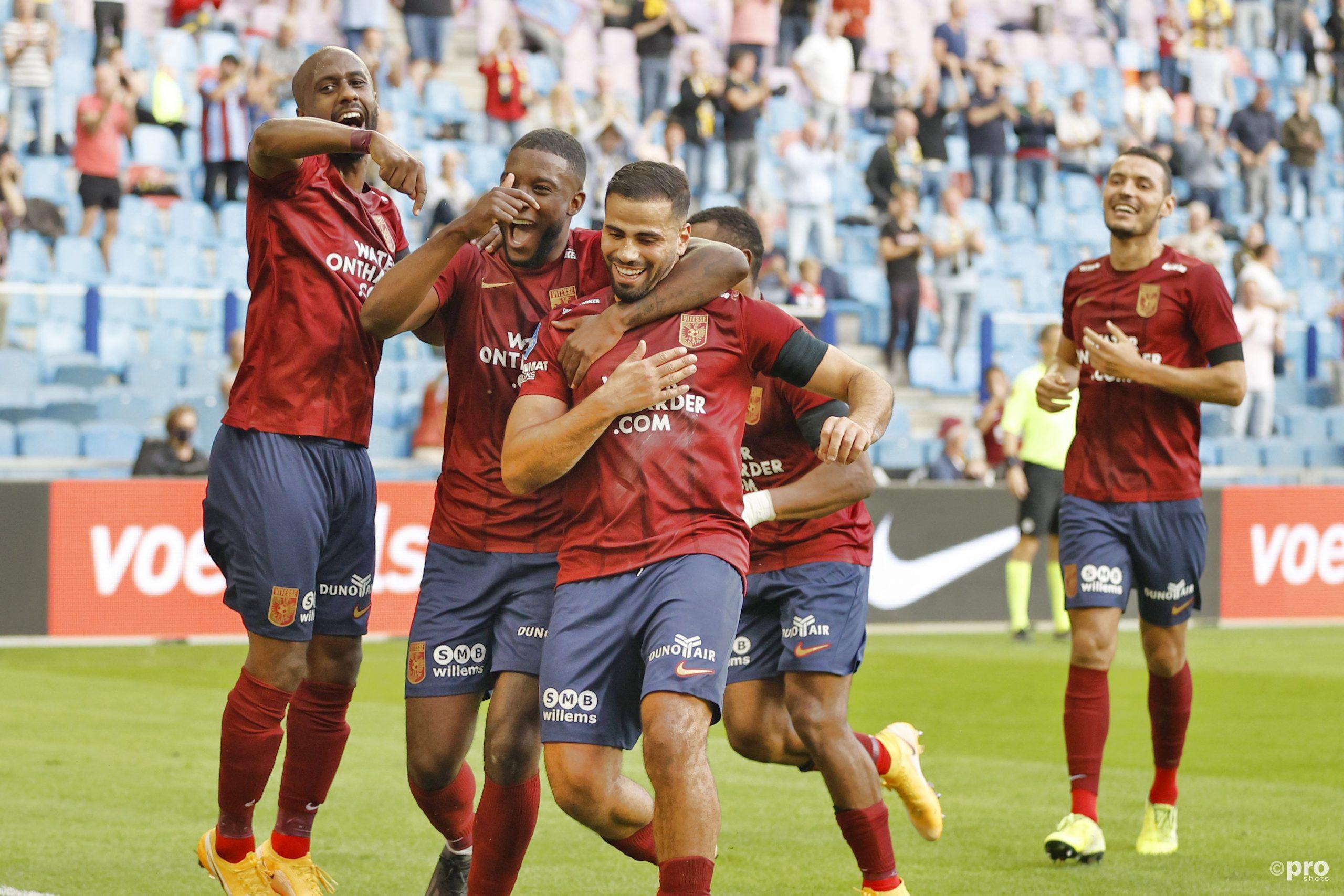 Vitesse bate Sparta Rotterdam e segue 100% na Eredivisie 2020/21