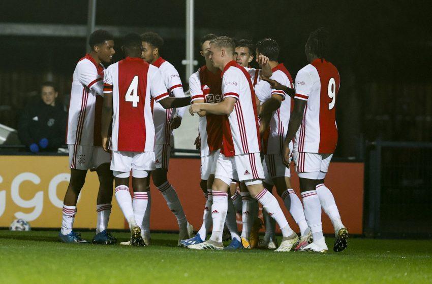 Jong Ajax bate em casa o Excelsior por 3 a 0