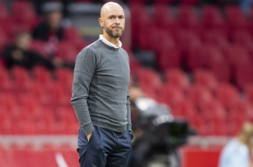Erik ten Hag é eleito o melhor treinador na Holanda