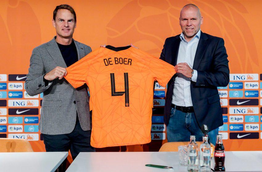 Frank de Boer tem aproveitamento parecido com Ronald Koeman
