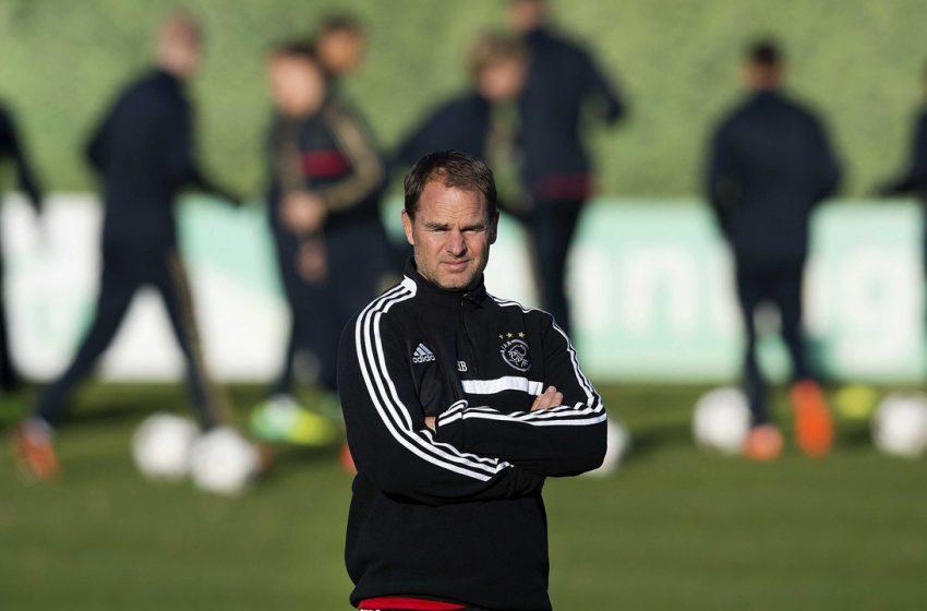 Frank de Boer cada vez mais perto de se tornar treinador da Holanda