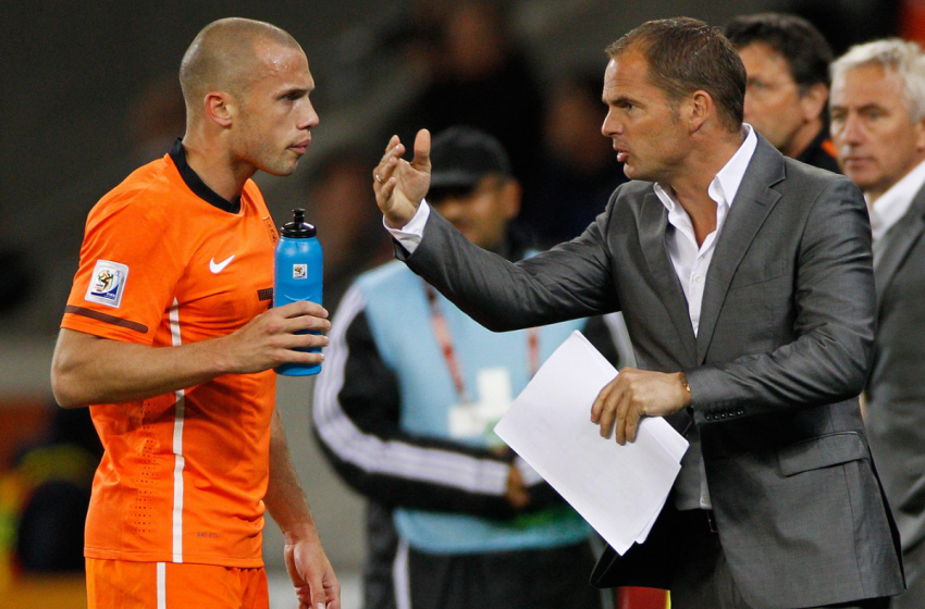 OFICIAL: Frank de Boer é o novo treinador da seleção holandesa