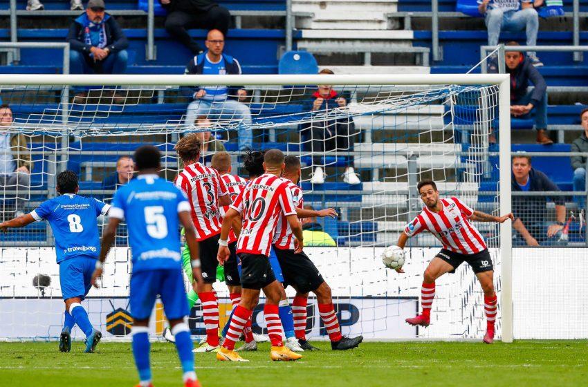Mica Pinto pega um jogo de suspensão e Sparta Rotterdam promete recorrer