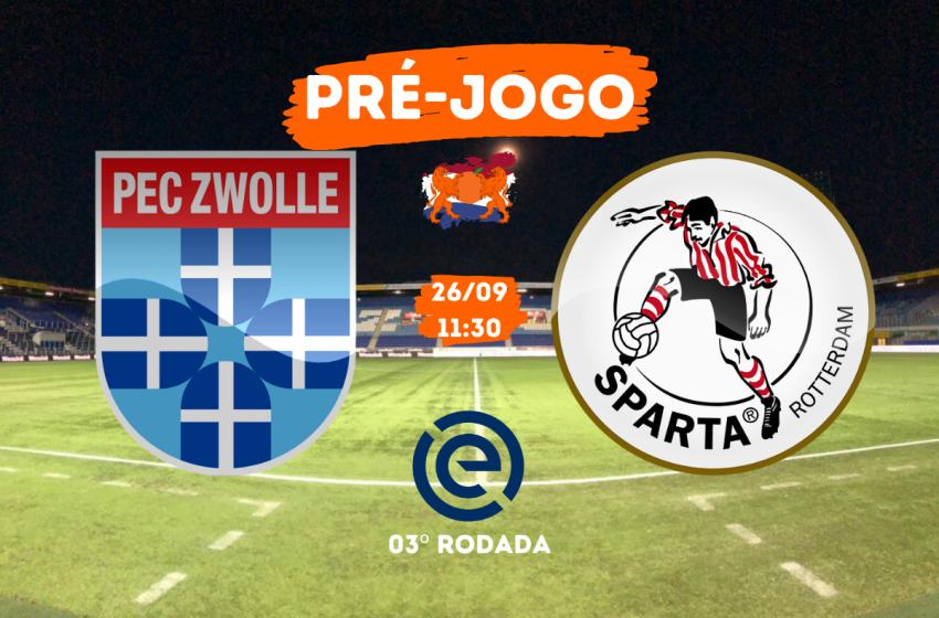PEC Zwolle x Sparta Rotterdam: Tudo que você precisa saber para acompanhar a partida