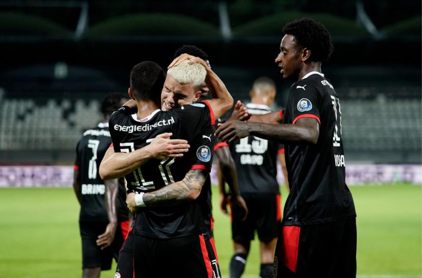 PSV passa o carro por cima do NS Mura e avança na Liga Europa