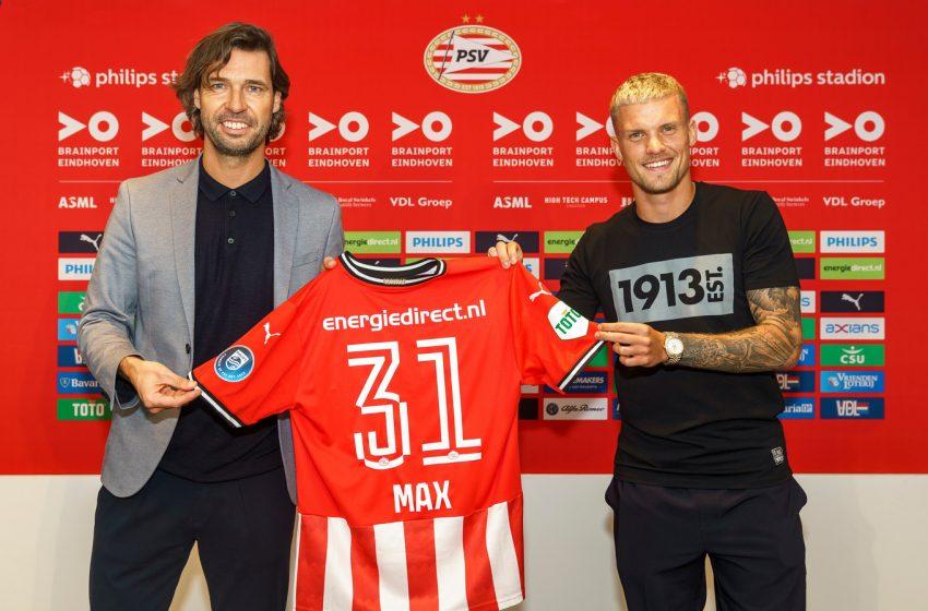 PSV anuncia contratação de Philipp Max