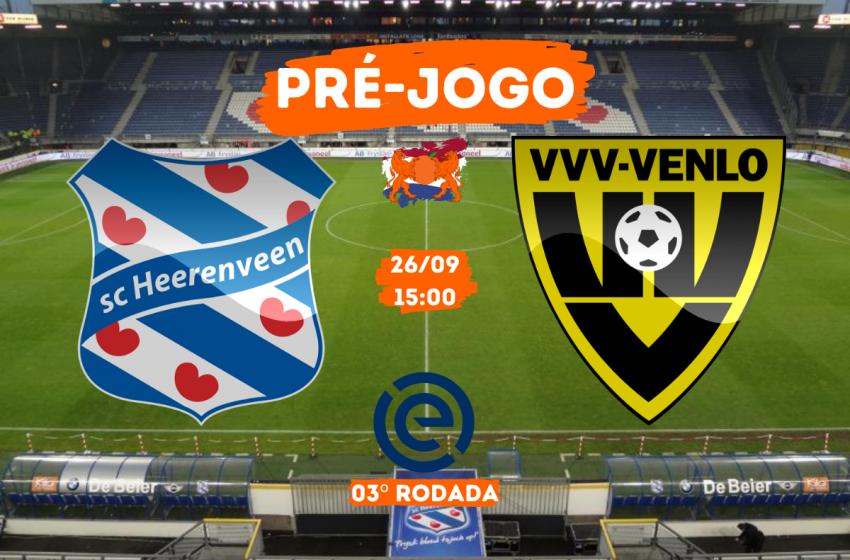 SC Heerenveen x VVV-Venlo: Tudo que você precisa saber para acompanhar a partida