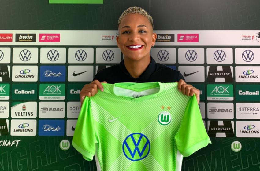 Shanice van de Sanden assina com o Wolfsburg da Alemanha