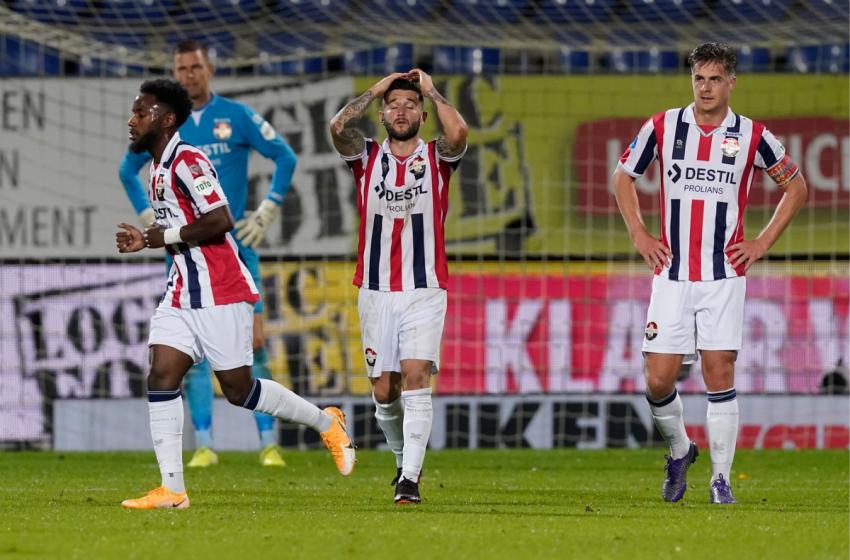 Fim da aventura europeia: Willem II perde em casa para o Rangers