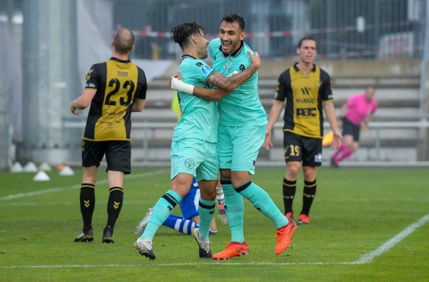 Willem II passa por cima do Progrès Niedercorn por 5 a 0