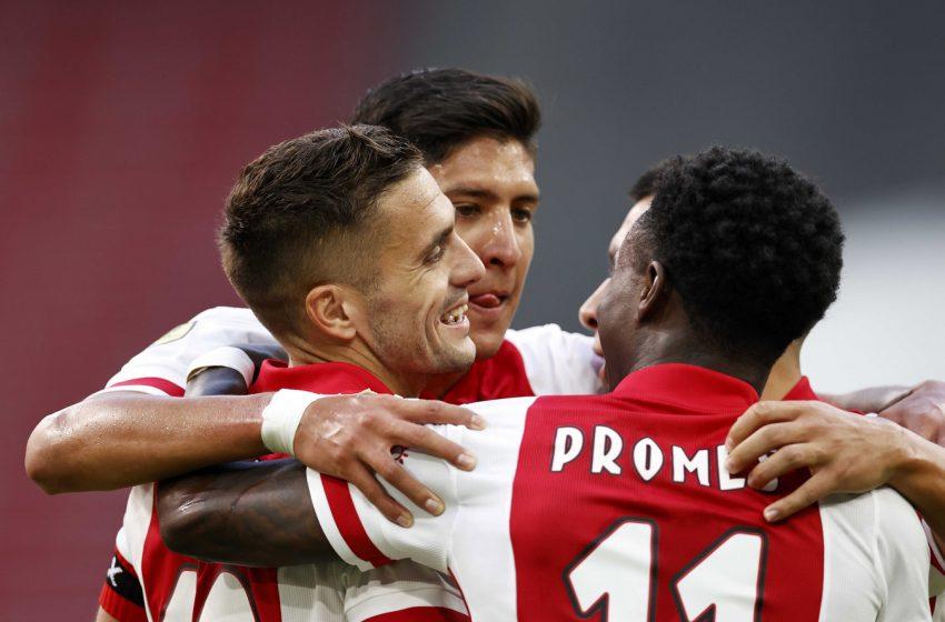 Ajax bate RKC Waalwijk por 3 a 0 e segue invicto na Eredivisie
