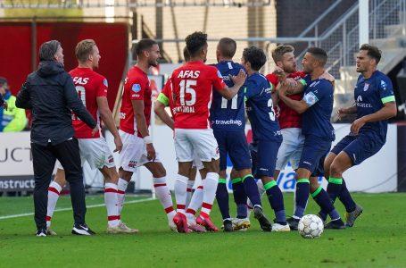 Em jogo marcado pela confusão, AZ e PEC Zwolle ficam no empate em 1 a 1