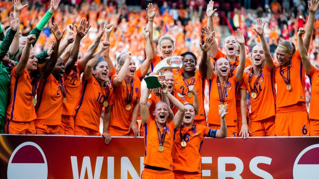 Seleção Feminina campeã da Eurocopa de 2017