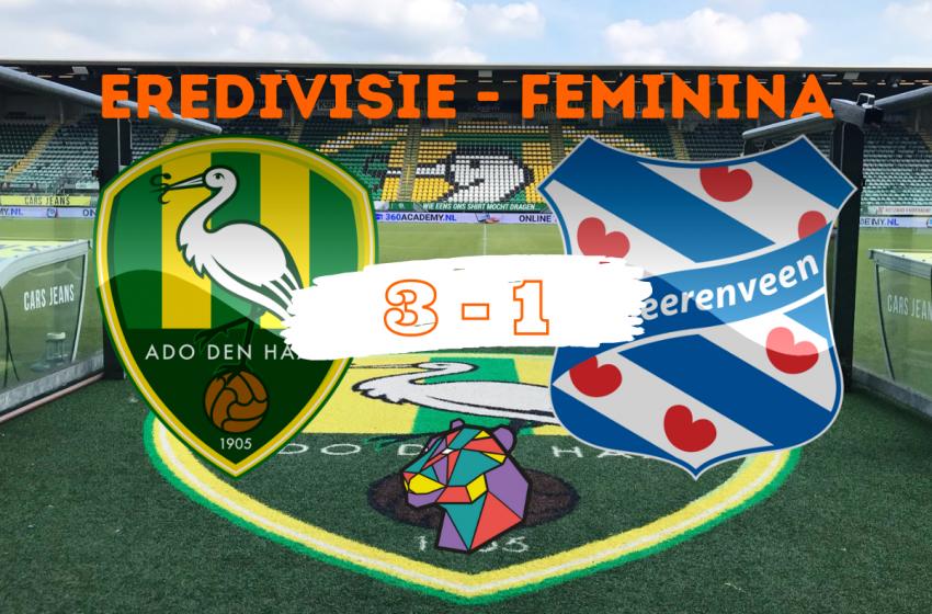 ADO Den Haag confirma favoritismo e bate o SC Heerenveen em casa