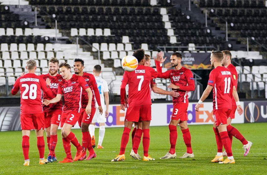 AZ Alkmaar mostra sua força na Liga Europa e bate o HNK Rijeka por 4 a 1
