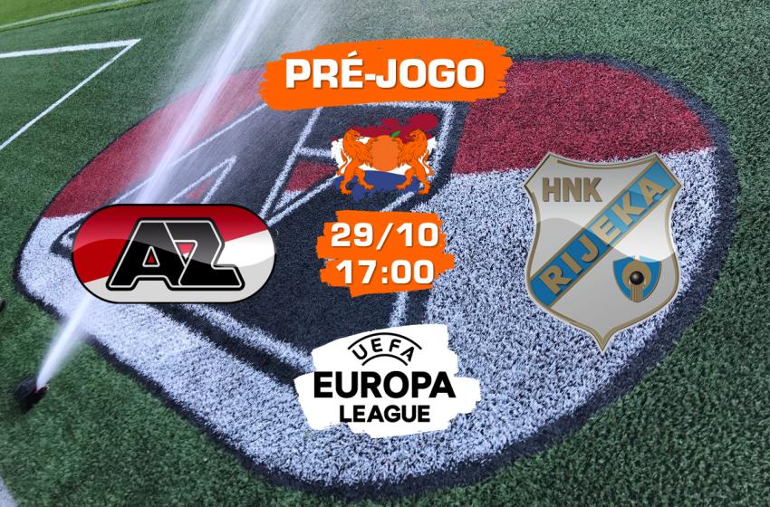 AZ Alkmaar v HNK Rijeka: Tudo que você precisa saber para acompanhar a partida