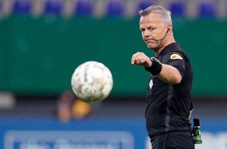 UEFA escala árbitros holandeses para dois jogos na Champions League