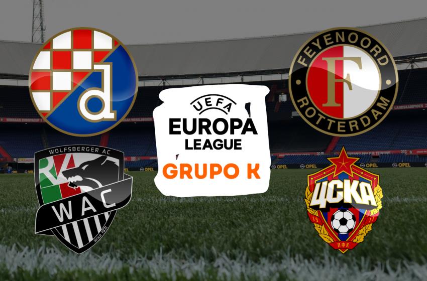 Conheça os adversários do Feyenoord na fase de grupos da Liga Europa