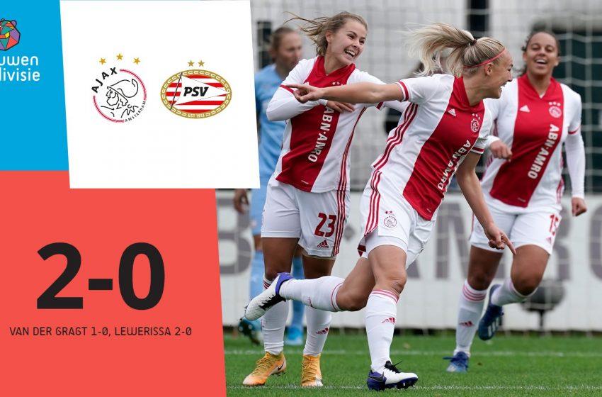 Ajax bate o PSV por 2 a 0