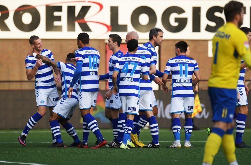 No final da partida, De Graafschap garante vitória em cima do Helmond Sport